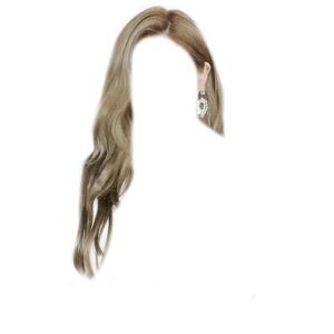 Dark Blonde Hair/Light Brown Hair PNG