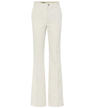 Roan Pinstripe Cotton Pants