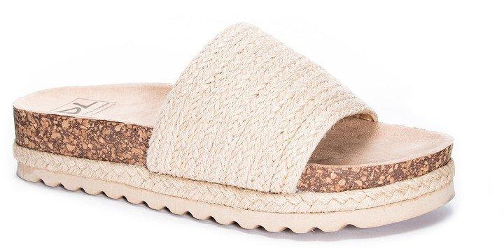 Espadrille Slide Sandal