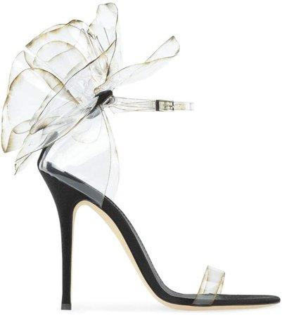 Peony stiletto sandals