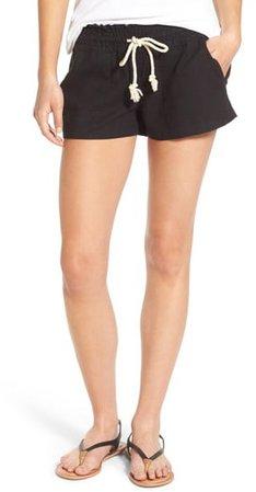 'Oceanside' Linen Blend Shorts