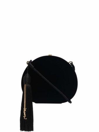 Saint Laurent small velvet crossbody bag - FARFETCH