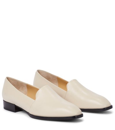 Aeydē, Amber leather loafers