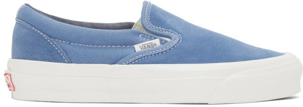 Blue OG Classic Slip-On LX Sneakers