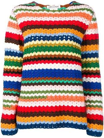Comme Des Garçons Vintage striped jumper $501 - Shop VINTAGE Online - Fast Delivery, Price