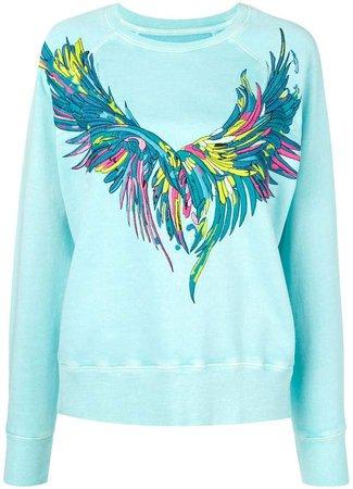 Zadig&Voltaire Overdyed Wings sweatshirt