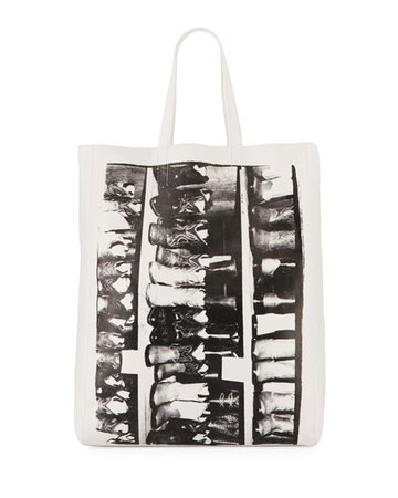 CALVIN KLEIN 205W39NYC Andy Warhol Boots Tote Bag