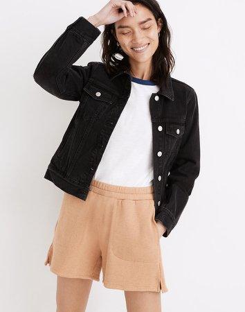 Flap-Pocket Jean Jacket