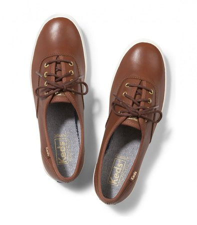 CHAMPION LEATHER COGNAC BROWN