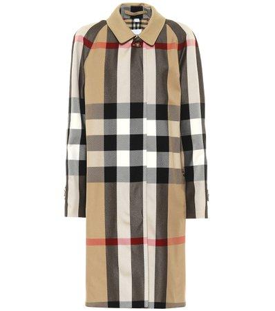 Burberry - Camden cotton car coat   Mytheresa