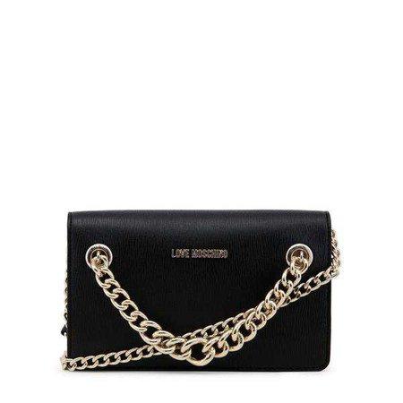 Clutch Bags | Shop Women's Black Shoulder Strap Clutch at Fashiontage | JC4265PP05KG_0000-257973