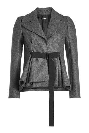 Belted Tweed Jacket with Wool Gr. DE 34