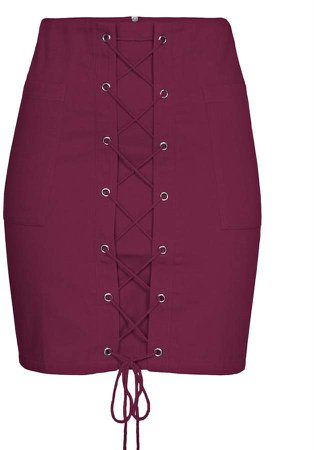 Imaima Yade Skirt In Red