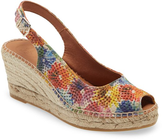 Carol Platform Wedge Sandal