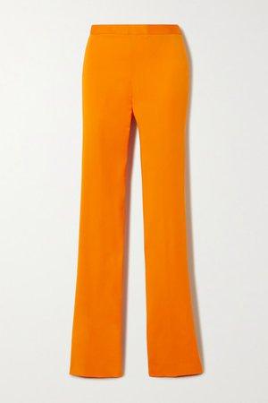 Cady Bootcut Pants - Orange
