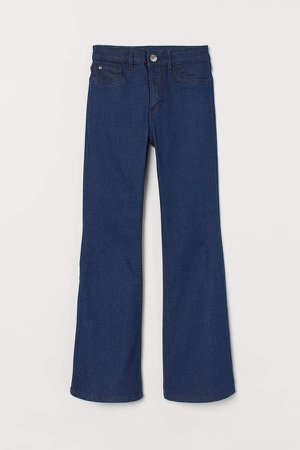Flare High Jeans - Blue