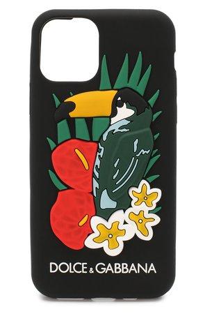 Чехол для iPhone 11 Pro DOLCE & GABBANA — купить за 6720 руб. в интернет-магазине ЦУМ, арт. BI2687/AX981
