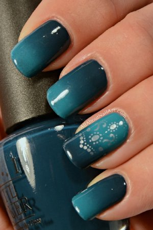nails blue and green - Google Search