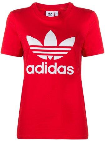 Adidas Trefoil Logo T-shirt - Farfetch