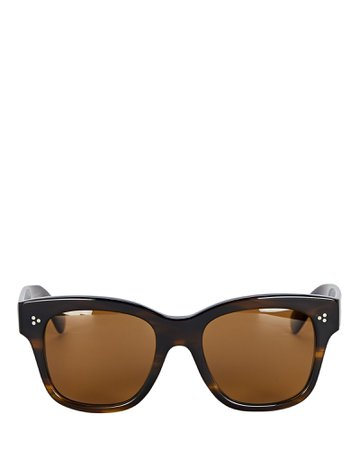 Oliver Peoples Melery Square Sunglasses | INTERMIX®