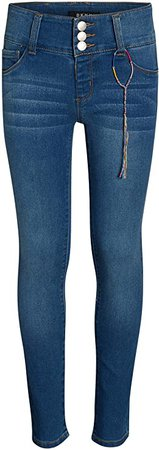 Amazon.com: DKNY Girls Super Soft Stretch Skinny Denim Jeans, Nolita, Size 7': Clothing