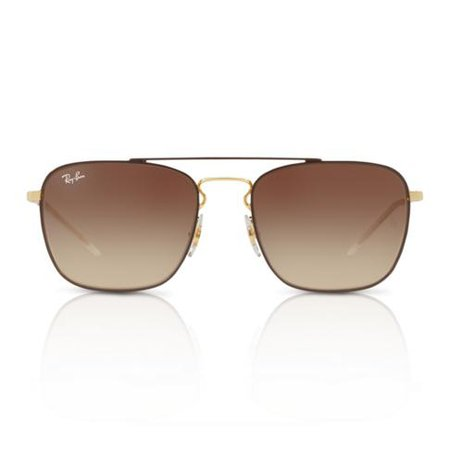 RAY-BAN AVIATOR GOLD/BROWN SUNGLASSES