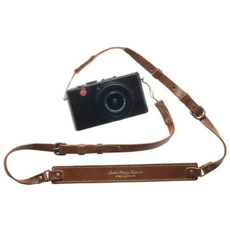old camera w/ leather strap