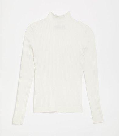 Ribbed Turtleneck Sweater | LOFT