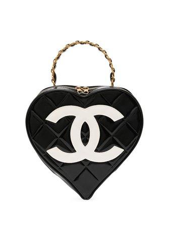 Chanel Pre-Owned Vanity CC Heart (1995) - Farfetch