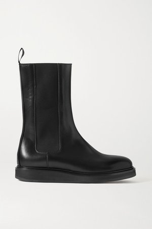18 Leather Chelsea Boots - Black