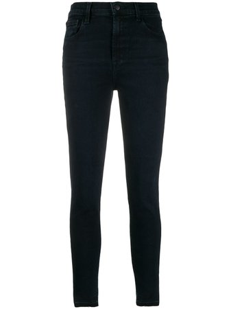 J Brand Leenah Skinny high-rise Jeans - Farfetch