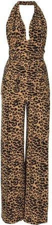 Bill leopard-print jumpsuit