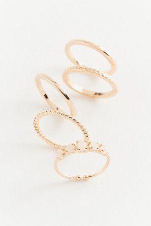 Ombré Stone Ring Set | Urban Outfitters