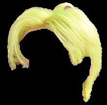 Formal Short Neon Hair 1 (eunhyuk suju)