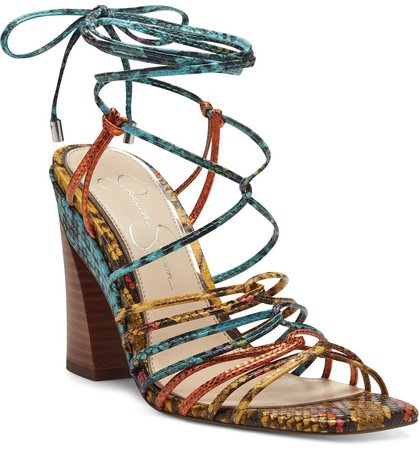Jessica Simpson Milaye Strappy Sandal (Women) | Nordstrom