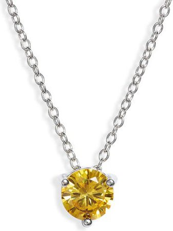 Nordstrom Solitaire Pendant Necklace | Nordstrom