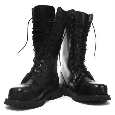Grinders Herald steel toe Military combat boots 8