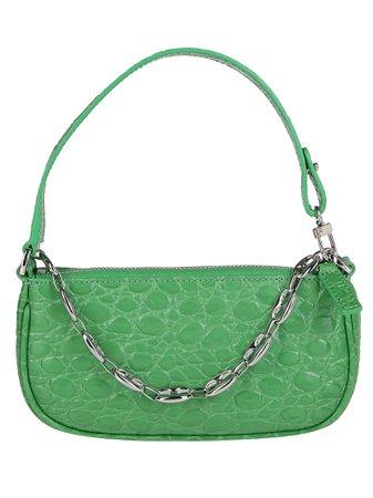 Emerald Green Leather Miranda Mini Bag