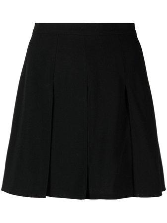 Chanel Pre-Owned 1995 Box Pleat Mini Skirt - Farfetch