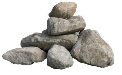 grey stones filler png rock