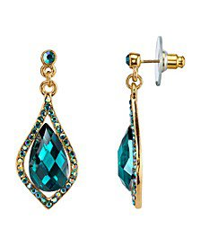 Green 2028 earrings - Macy's