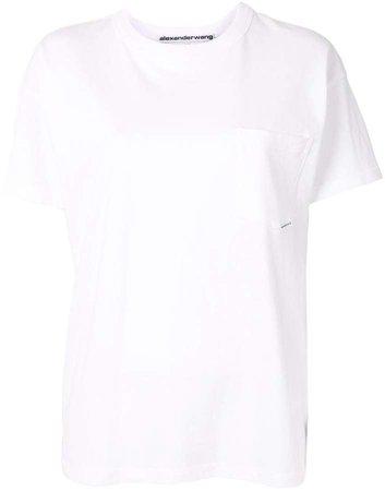 chest pocket T-shirt