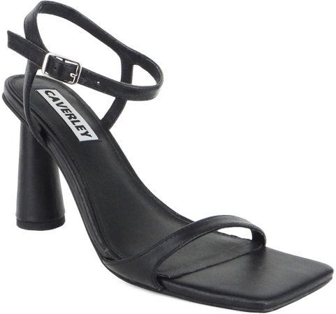 Maple Heel Strappy Sandal