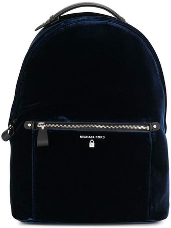 large navy backpack