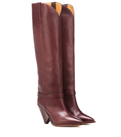 Lenskee leather boots