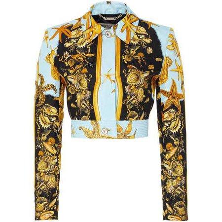 Versace Silk Faille Jacket