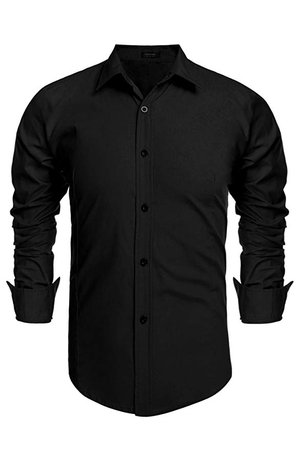 Diaper Men Shirt Men Short Sleeve Button Down Shirt Men Black Shirt Casual Button-Down Shirts at Amazon Men's Clothing store: