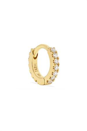 Maria Tash | Mini 18-karat gold diamond earring | NET-A-PORTER.COM