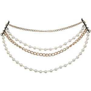 Miss Selfridge Pearl and Chain Belt