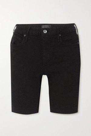 Toure Denim Shorts - Black